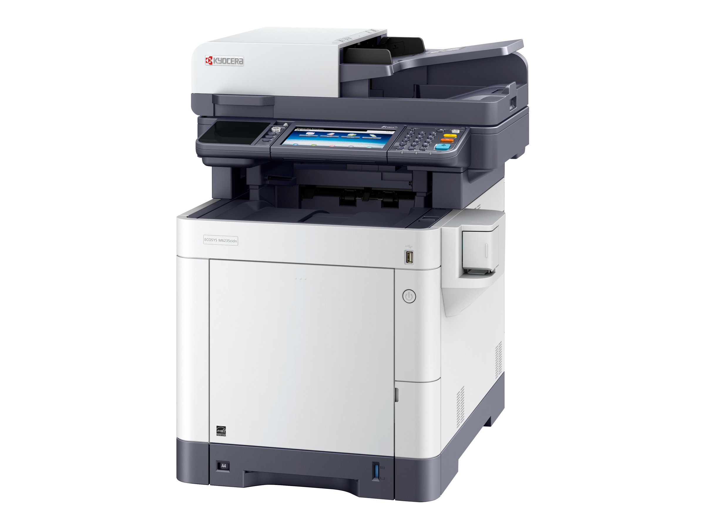 Kyocera ECOSYS M6235cidn - Multifunktionsdrucker - Farbe - Laser - Legal (216 x 356 mm)/A4 (210 x 297 mm) (Original) - A4/Legal