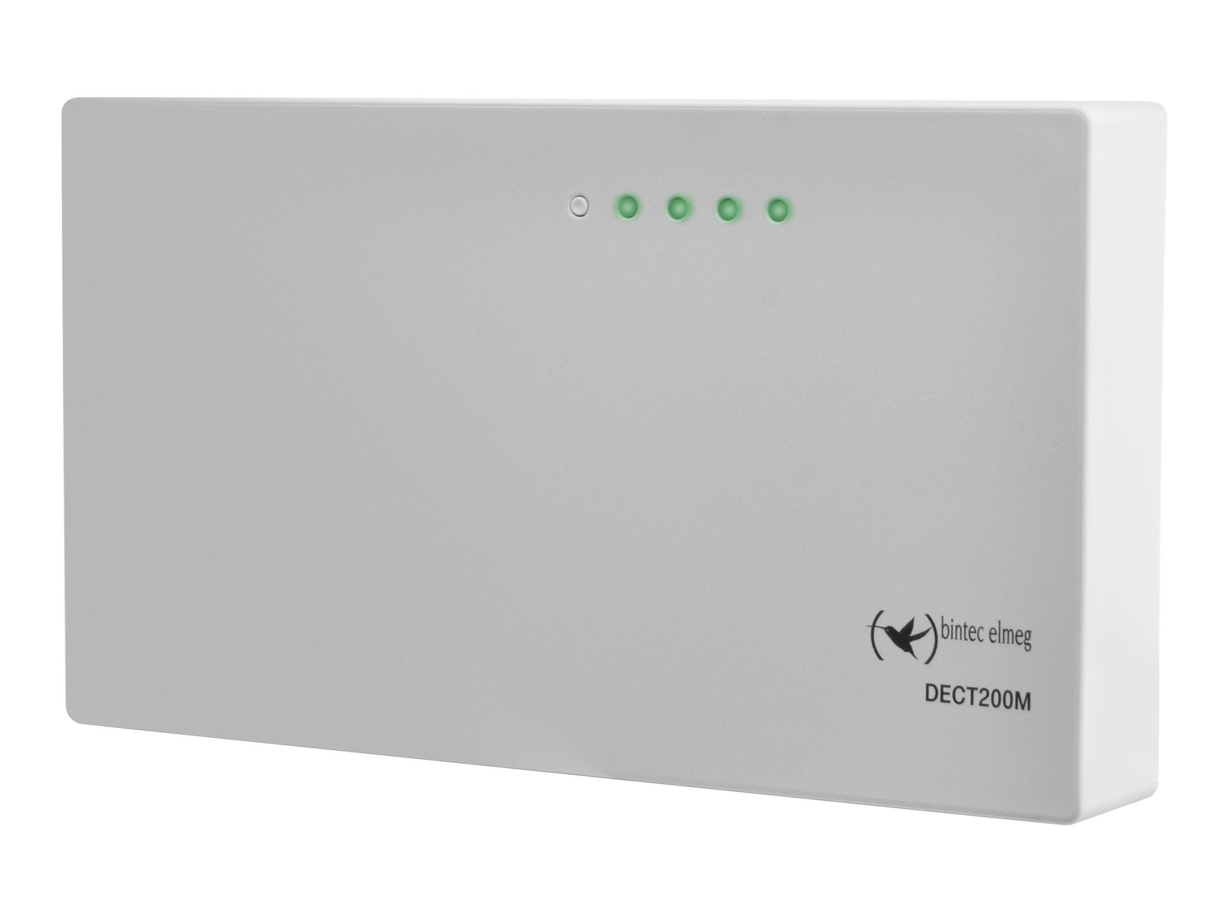 elmeg DECT200M - Basisstation für kabelloses VoIP-Telefon - 100Mb LAN