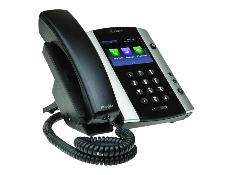 Poly VVX 501 - VoIP-Telefon - dreiweg Anruffunktion - SIP, RTCP, RTP, SRTP - 12 Leitungen