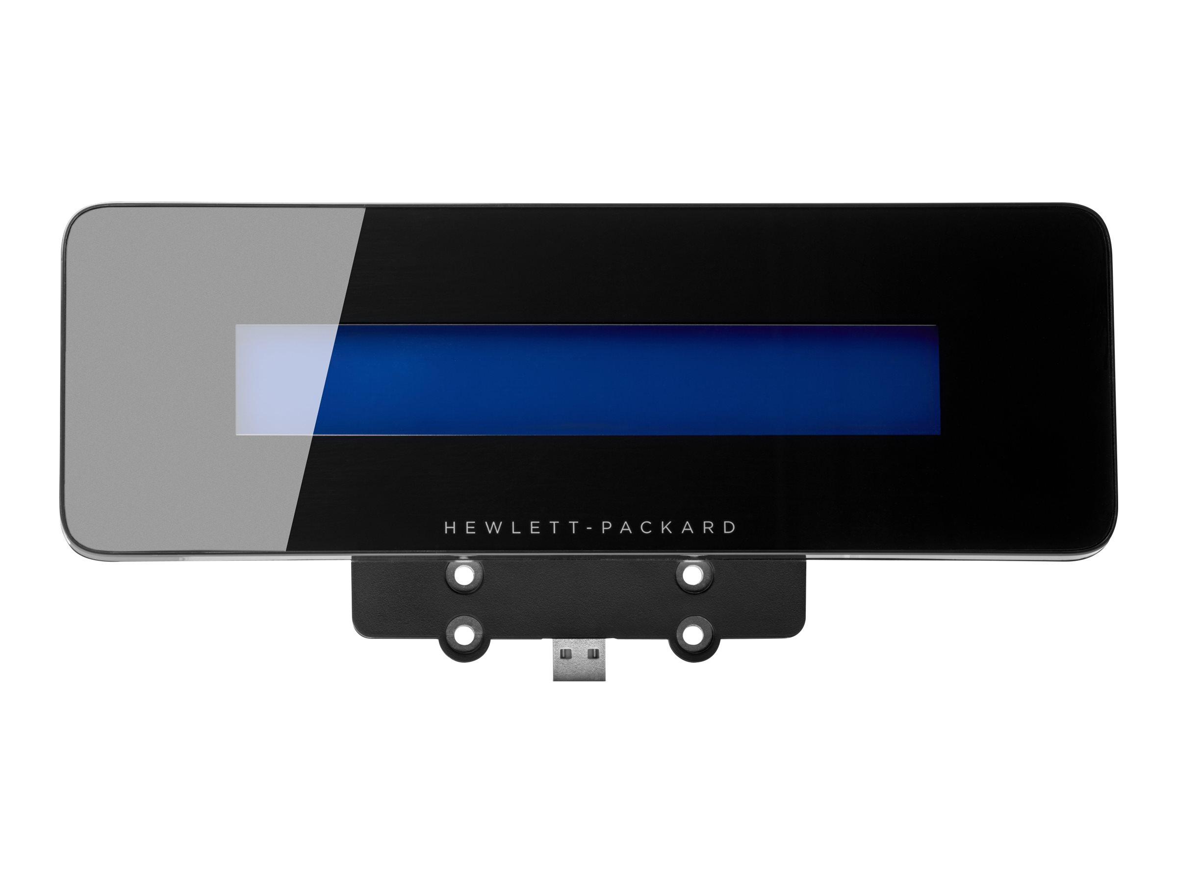 HP Engage One Top Mount Customer Facing Display - Kundenanzeige - 480 x 64 - 600 cd/m² - USB - Ebony Black