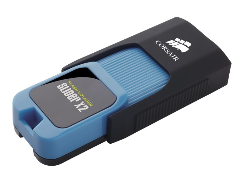 Corsair Flash Voyager Slider X2 - USB-Flash-Laufwerk - 32 GB - USB 3.0