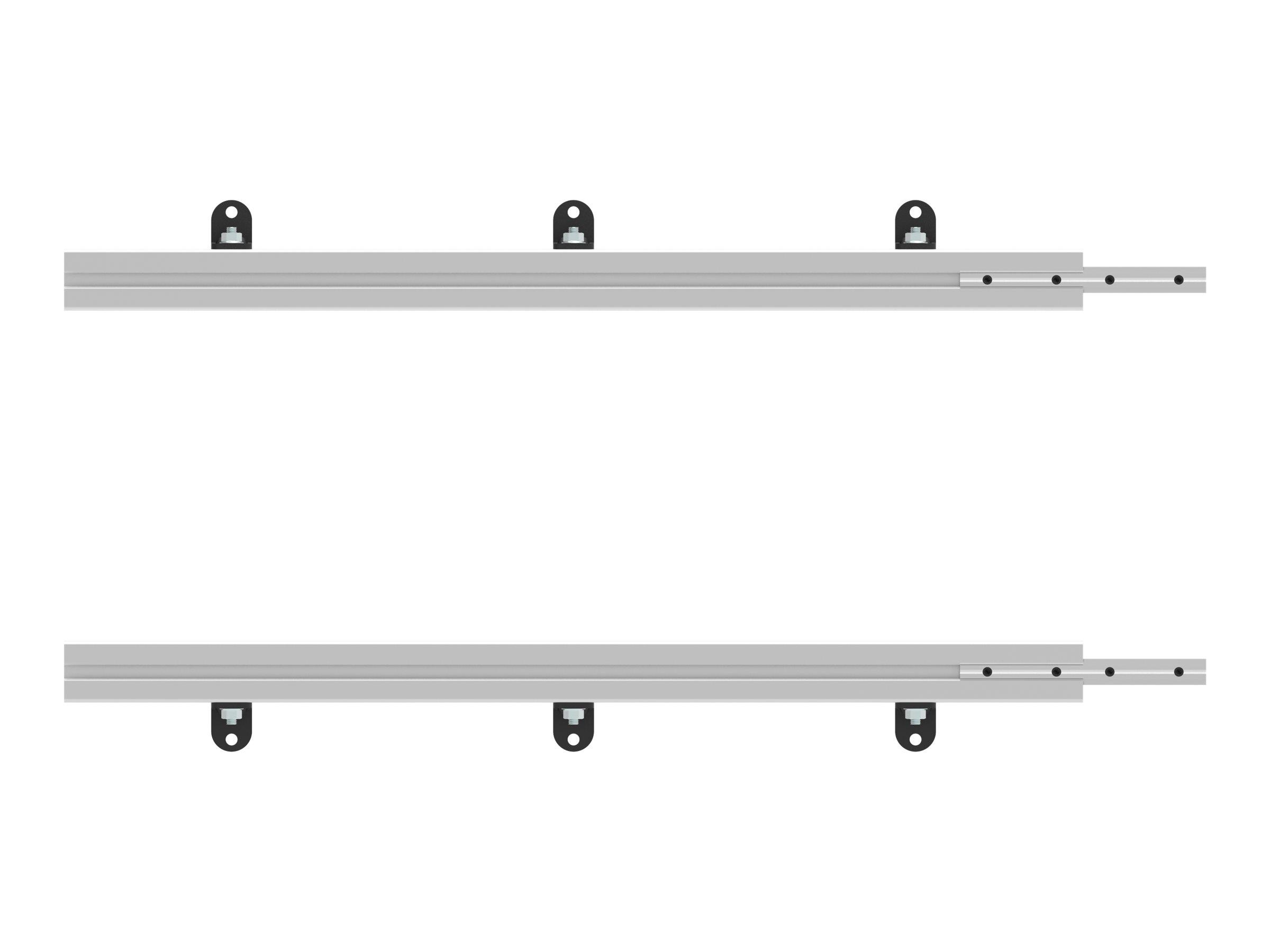 Vision - Montagekomponente (2 Schienen) - stranggepresstes Aluminium