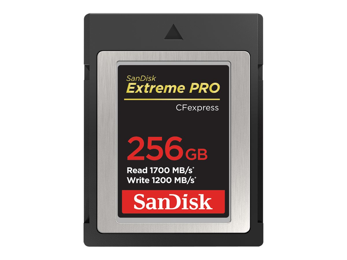 SanDisk Extreme Pro - Flash-Speicherkarte - 256 GB - CFexpress