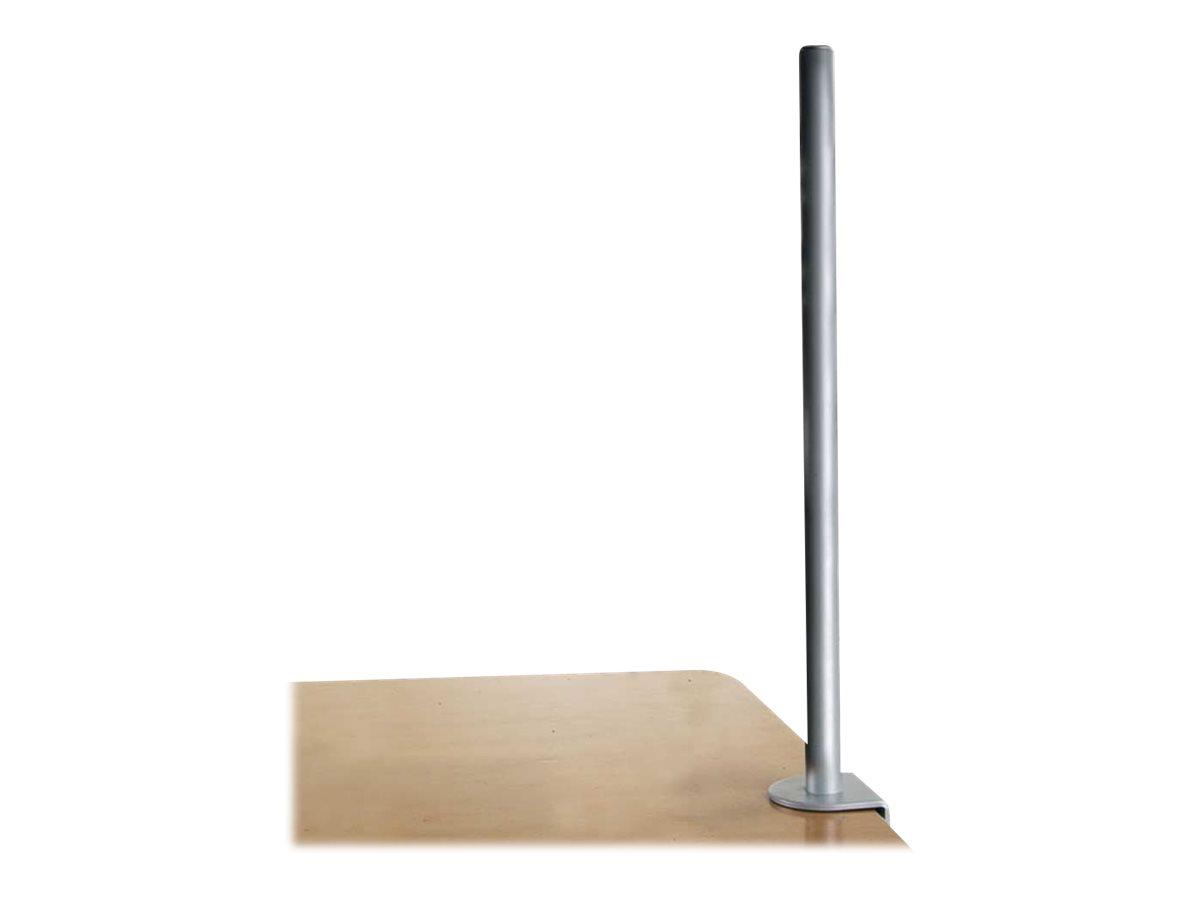Lindy Desk Clamp Pole - Montagekomponente (C-Klammer, Montagestange) für LCD-Display/Notebook - Metall - Silber - Tischmontage