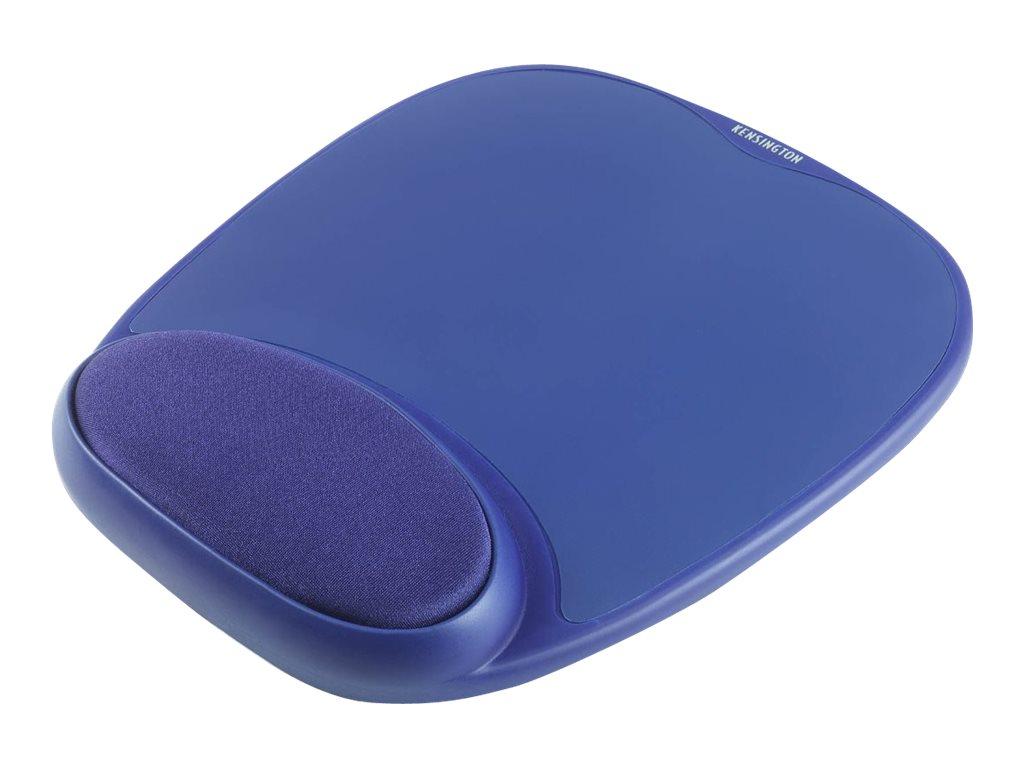 Kensington Wrist Pillow - Mauspad mit Handgelenkpolsterkissen - Blau