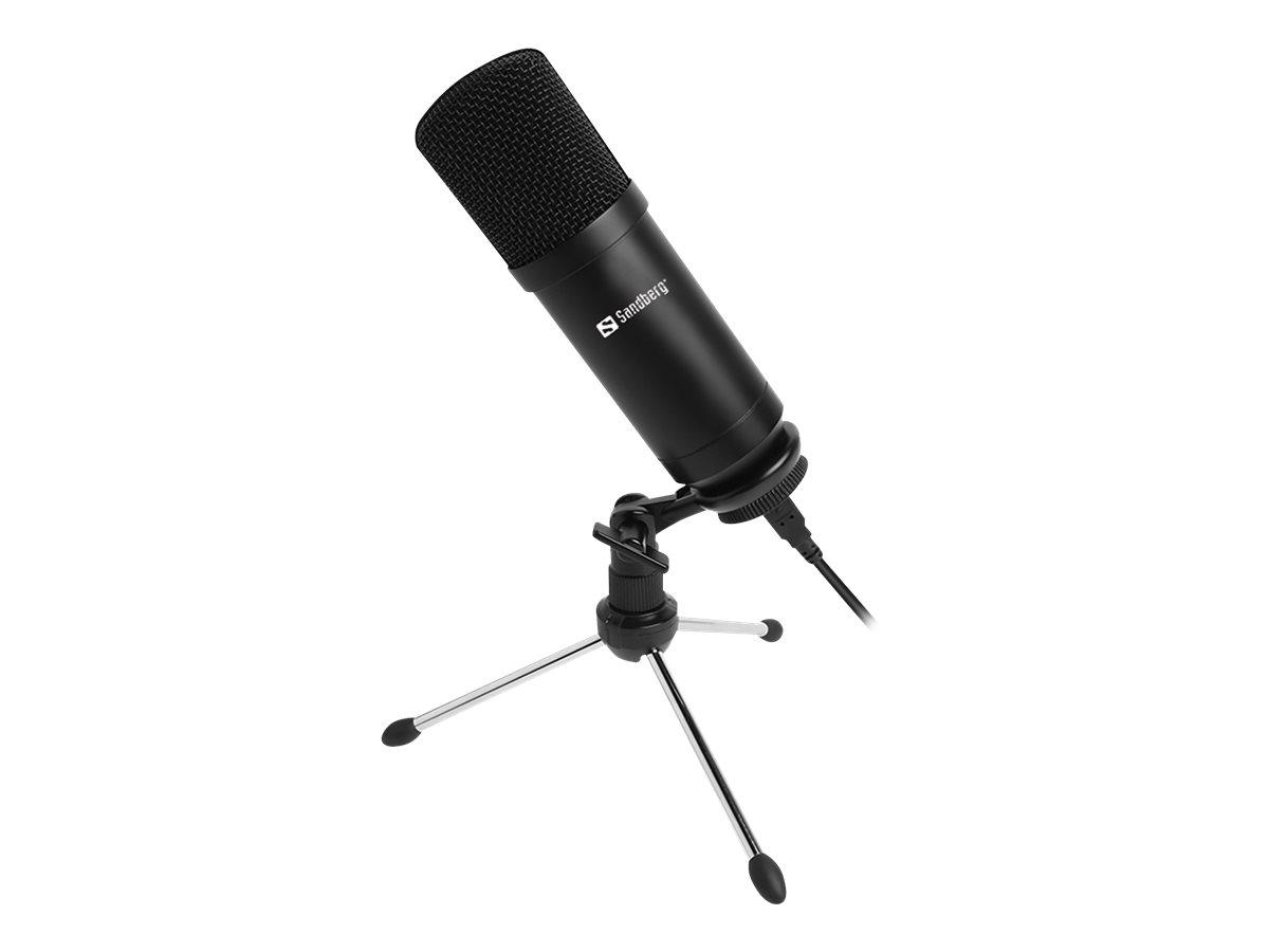 Sandberg Streamer - Mikrofon - USB