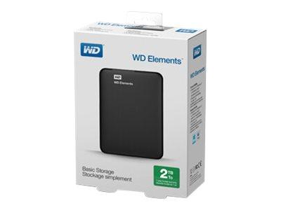WD Elements Portable WDBU6Y0050BBK - Festplatte - 5 TB - extern (tragbar) - USB 3.0