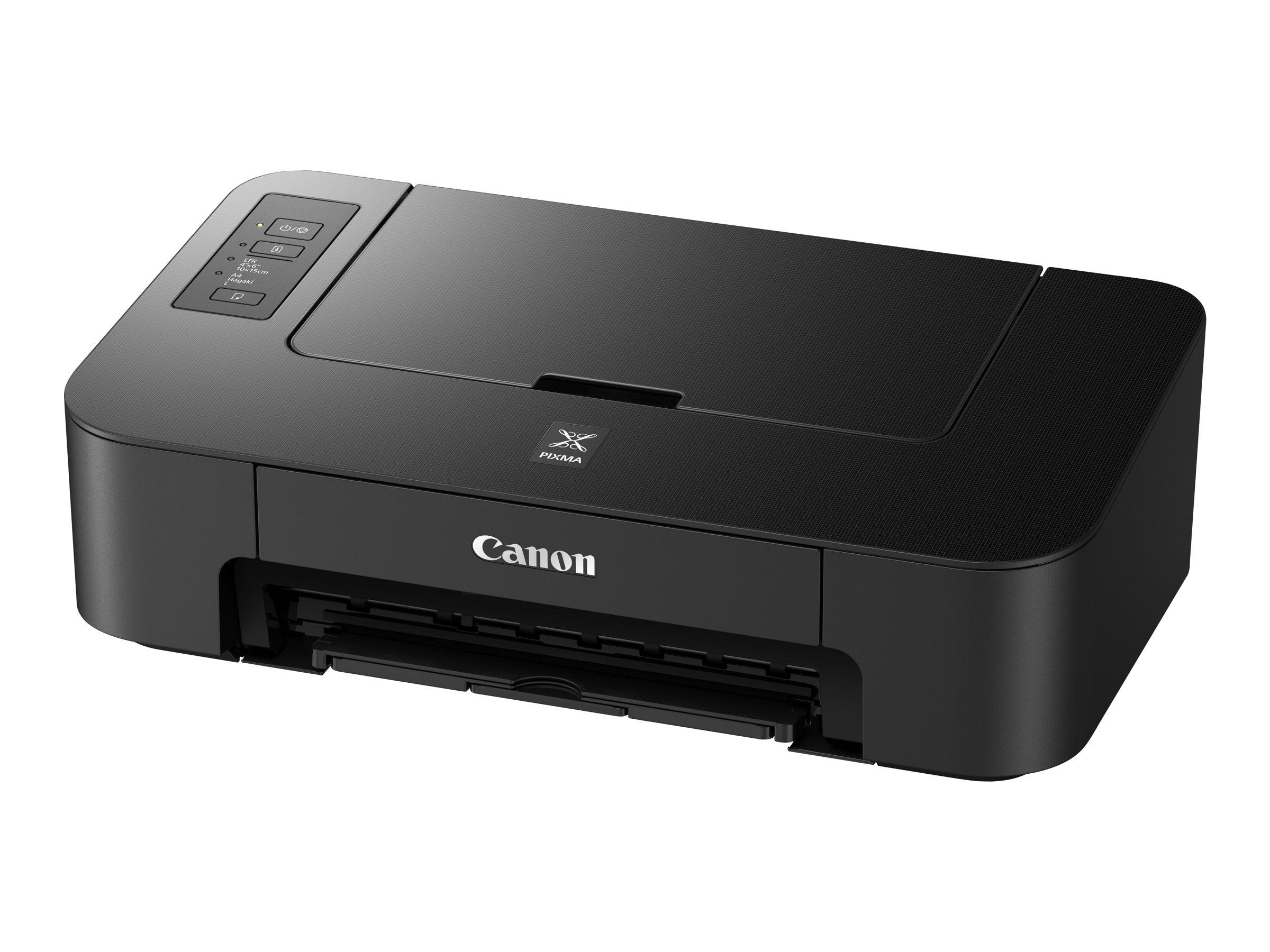 Canon PIXMA TS205 - Drucker - Farbe - Tintenstrahl - A4/Letter - bis zu 7.7 ipm (einfarbig)/ bis zu 4 ipm (Farbe)