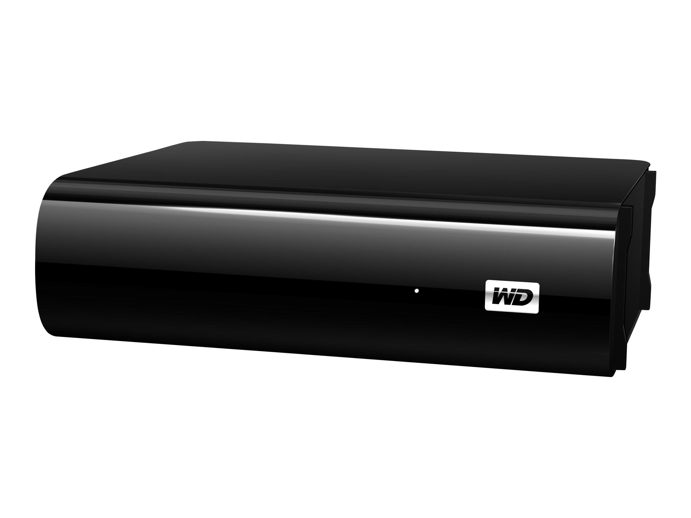 WD MyBook AV-TV WDBGLG0010HBK - Festplatte - 1 TB - extern (Stationär) - USB 3.0