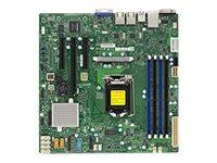 SUPERMICRO X11SSL - Motherboard - micro ATX - LGA1151 Socket - C232 - USB 3.0