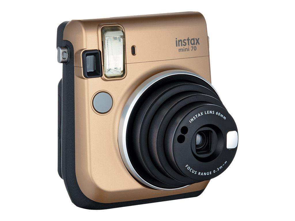Fujifilm Instax Mini 70 - Instant Kamera - Objektiv: 60 mm Gold