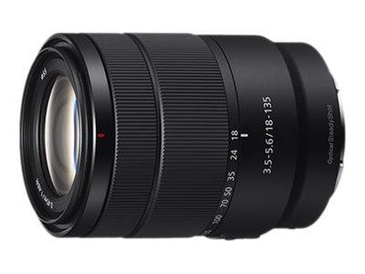 Sony SEL18135 - Zoomobjektiv - 18 mm - 135 mm - f/3.5-5.6 E OSS - Sony E-mount