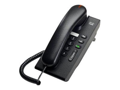 Cisco Unified IP Phone 6901 Standard - VoIP-Telefon - SCCP - holzkohlefarben