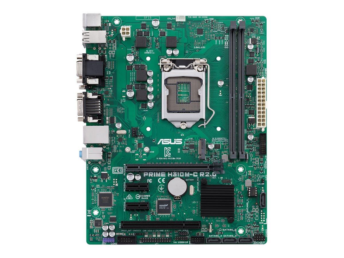 ASUS PRIME H310M-C R2.0/CSM - Motherboard - micro ATX - LGA1151 Socket - H310 - USB 3.1 Gen 1