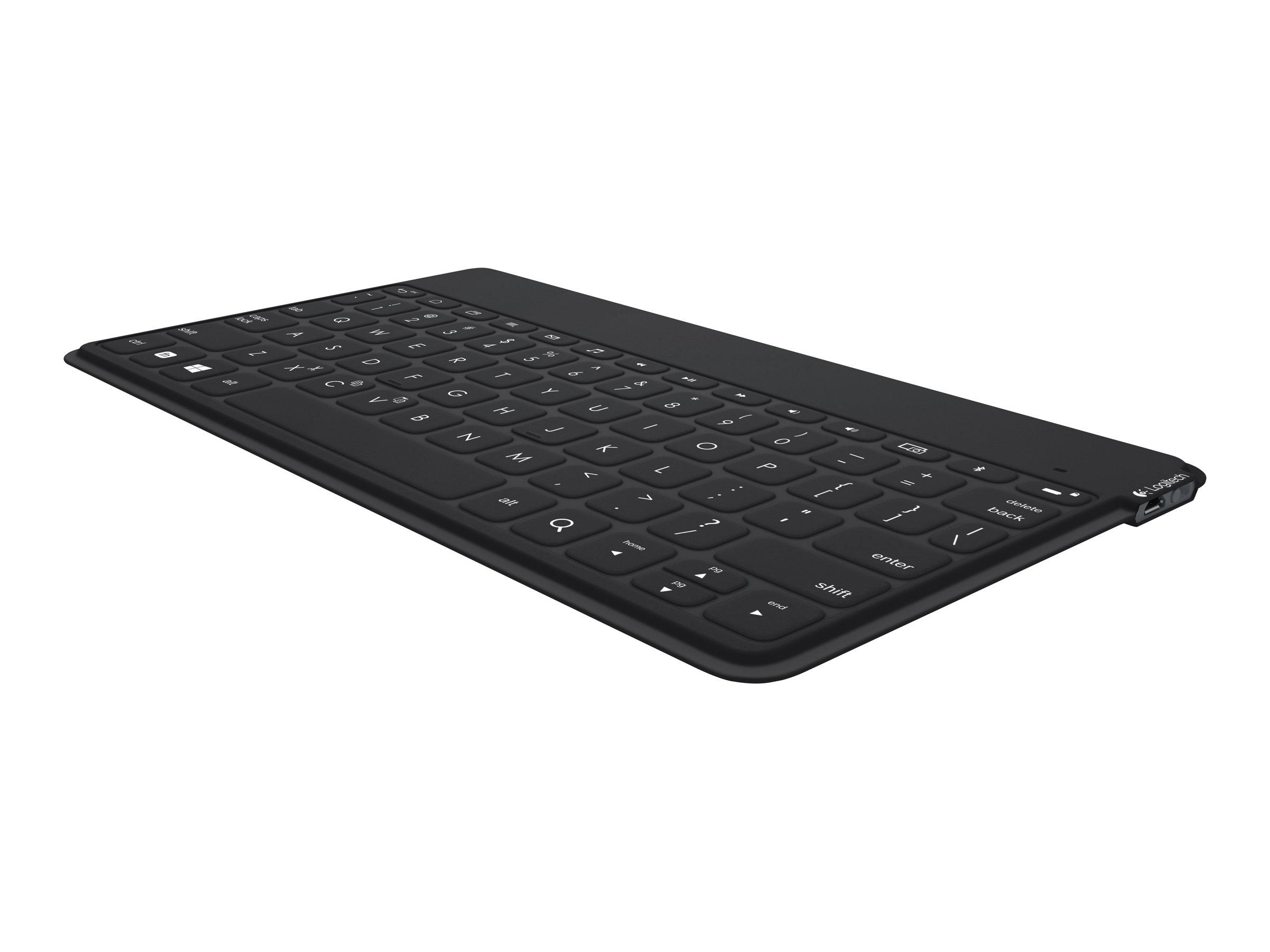 Logitech Keys-To-Go - Tastatur - Bluetooth - Schweiz - Schwarz