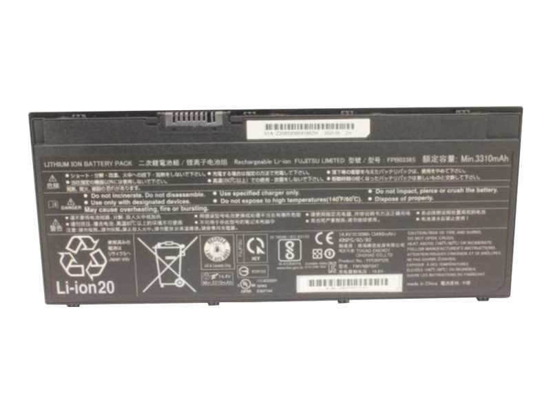 Fujitsu - Laptop-Batterie - 4 Zellen - 50 Wh - für LIFEBOOK E5410, E5510, E5511, T937, U7410, U747, U7510, U757