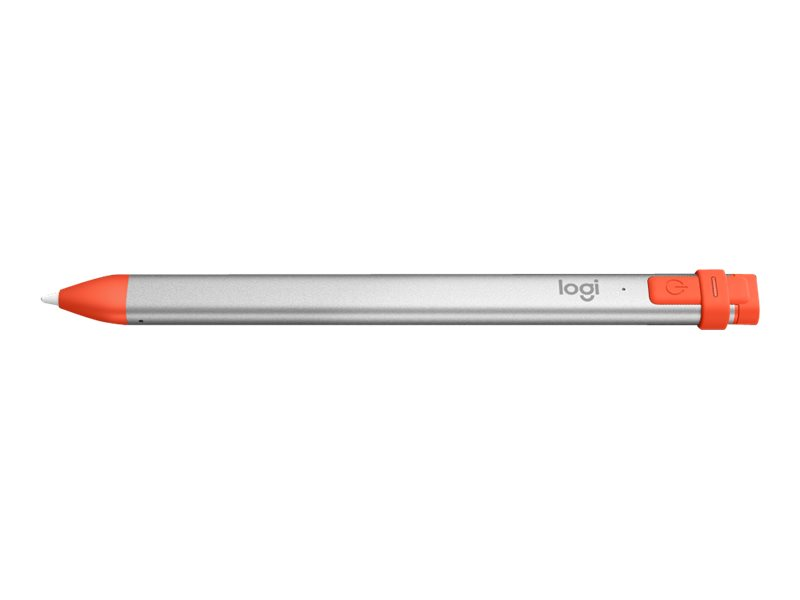 Logitech Crayon - Digitaler Stift - kabellos - Intense Sorbet - für Apple 10.5-inch iPad Air (3rd generation); 11-inch iPad Pro;