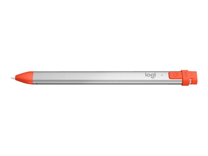 Logitech Crayon - Digitaler Stift - kabellos - Intense Sorbet