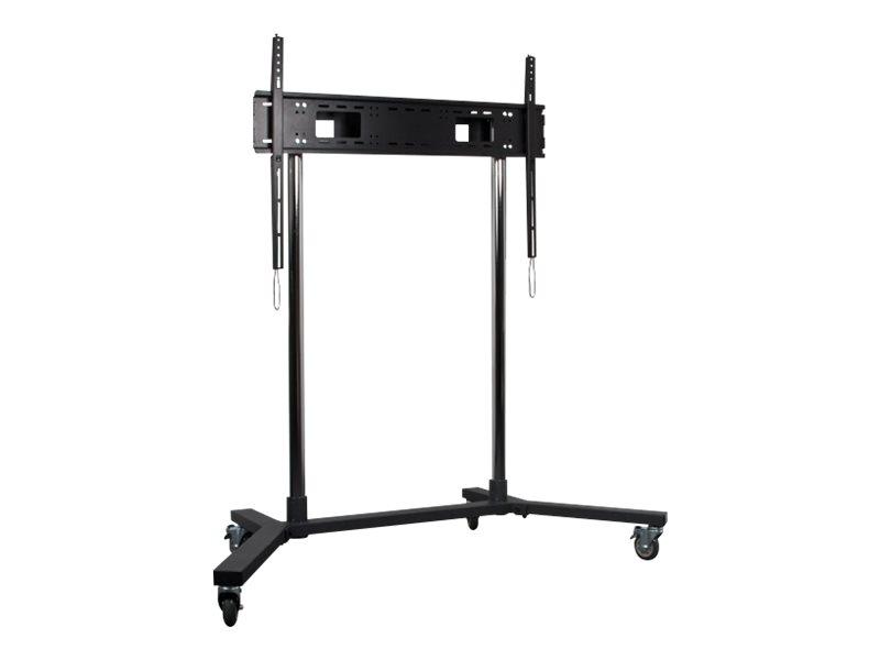 B-TECH - Wagen für LCD-/Plasmafernseher - Schwarz - Bildschirmgrösse: von 165 cm (von 65