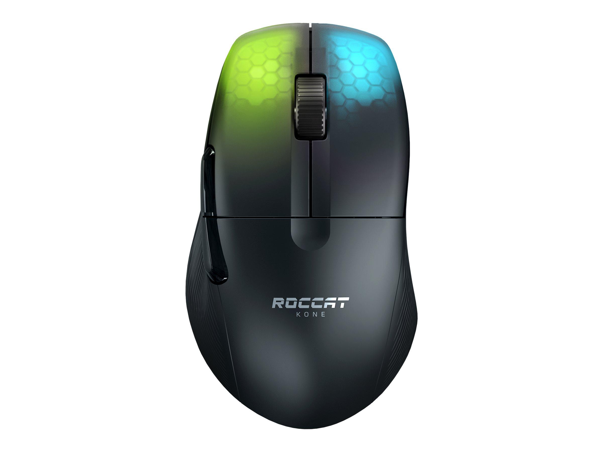 ROCCAT Kone Pro Air - Maus - ergonomisch - optisch - 5 Tasten - kabellos