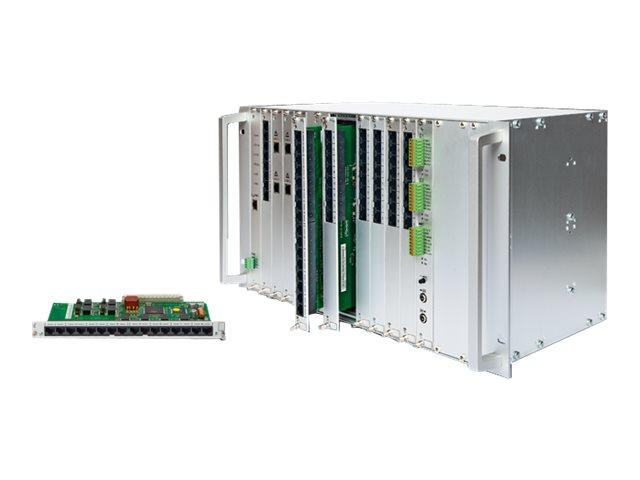 Auerswald COMmander 6000RX - Hybrid PBX - 6U - in Rack montierbar