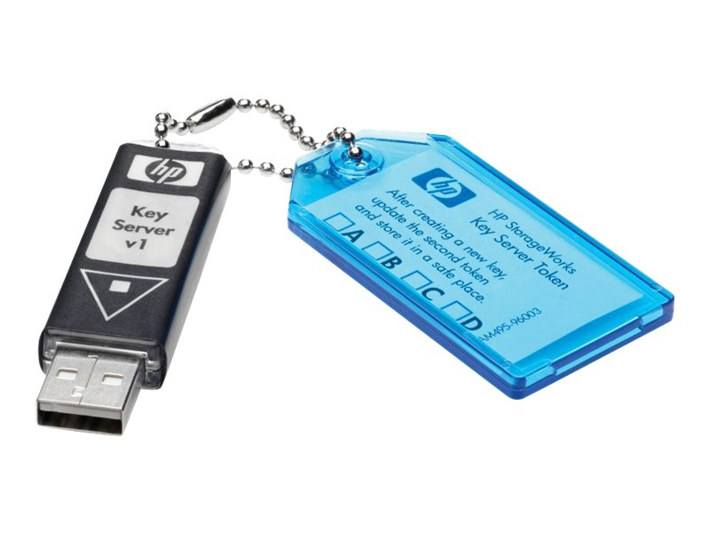 HPE Encryption Kit - Speicherverschlüsselungs-Kit - für StorageWorks MSL2024, MSL4048, MSL8096; StorageWorks 1/8 G2 Tape Autoloa