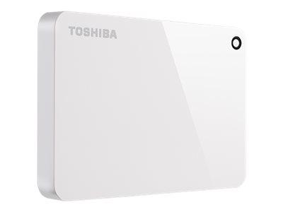 Toshiba Canvio Advance - Festplatte - 1 TB - extern (tragbar) - USB 3.0 - Klavierlackoptik blau
