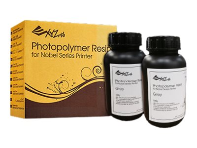 XYZprinting - 2er-Pack - 500 ml - weiss - photopolymer resin print pack (3D) - für Nobel