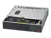 Supermicro SuperServer E200-8D - Server - Mini-1U - 1-Weg - 1 x Xeon D-1528 / 1.9 GHz - RAM 0 GB