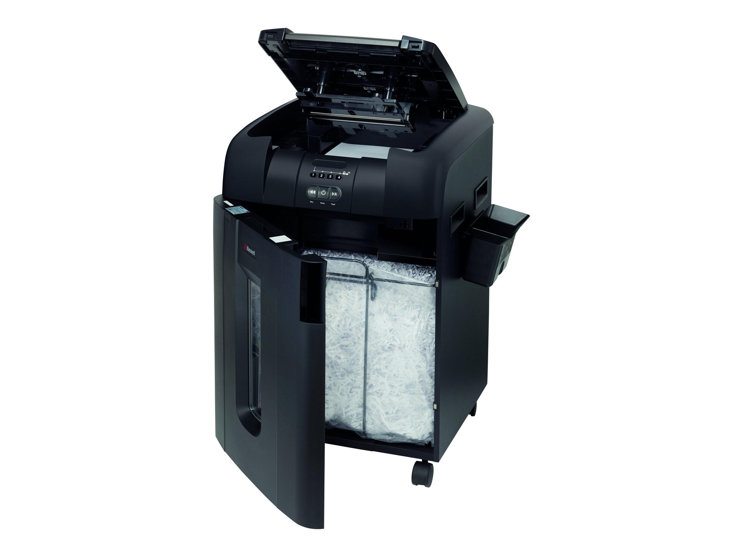 Rexel Auto+ 600X - Vorzerkleinerer - Partikelschnitt - 4 x 40 mm - P-4