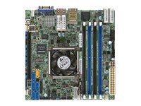 SUPERMICRO X10SDV-16C+-TLN4F - Motherboard - Mini-ITX - Intel Xeon D-1587 - USB 3.0 - 2 x 10 Gigabit LAN, 2 x Gigabit LAN