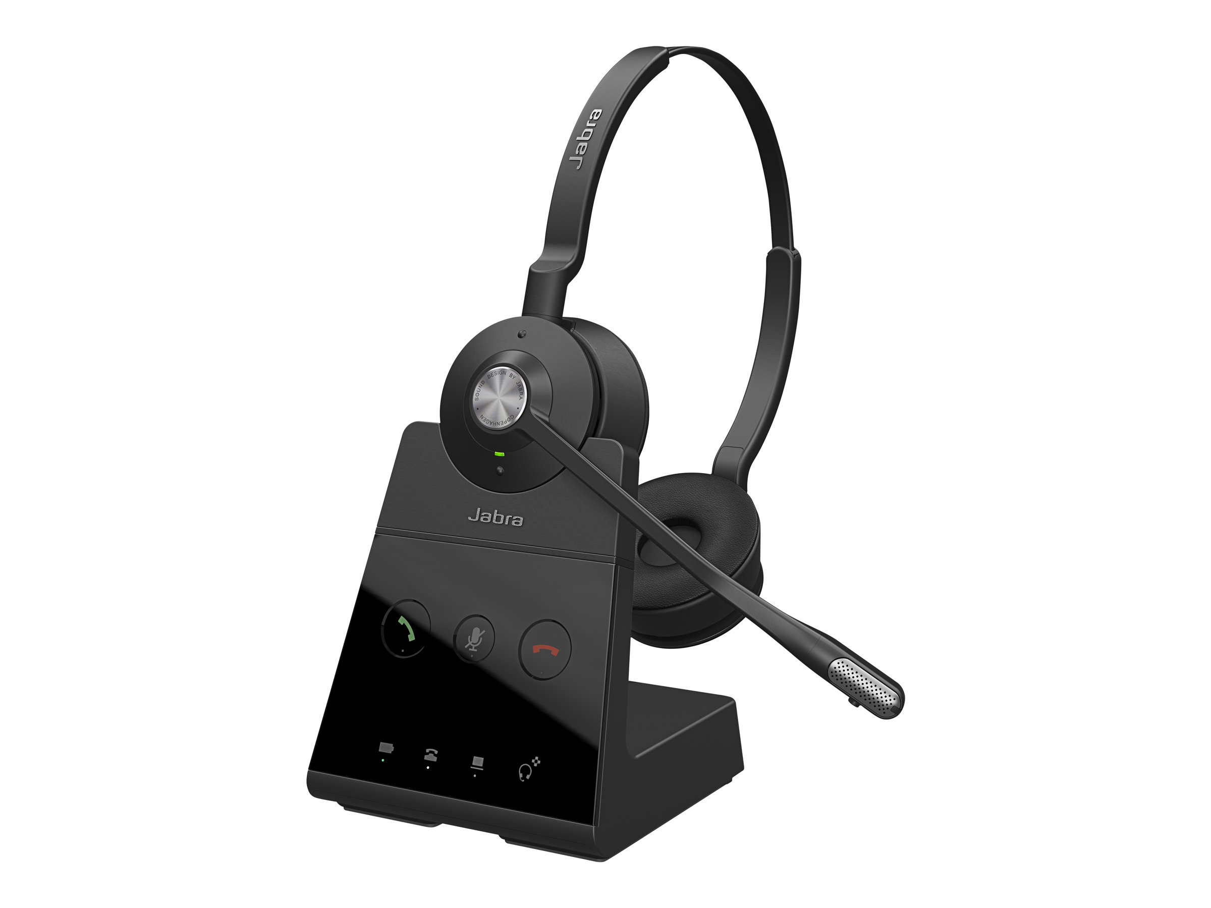 Jabra Engage 65 Stereo - Headset - On-Ear - DECT - kabellos