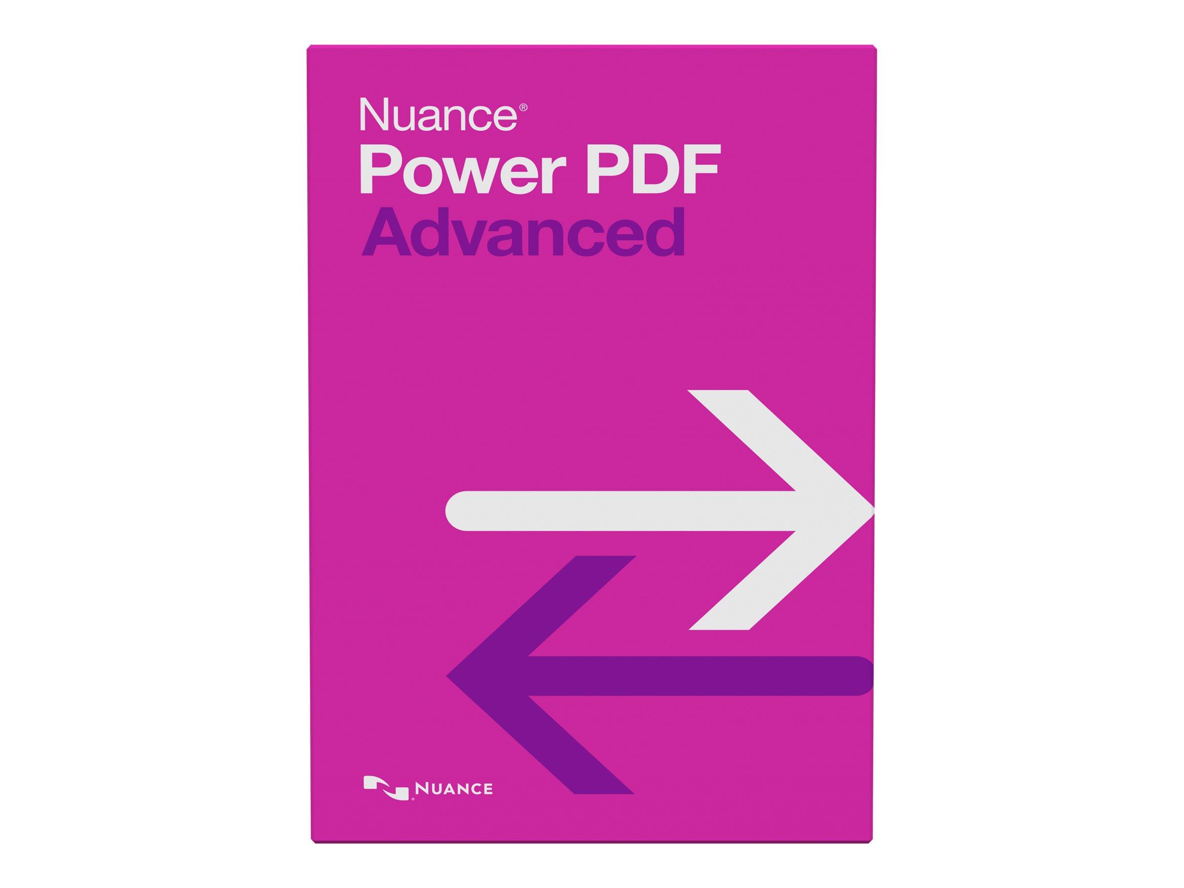 Nuance Power PDF Advanced - (v. 2.0) - Lizenz - 1 Benutzer - Volumen - 200-499 Lizenzen