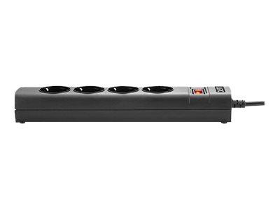 APC UPS Power Strip PZ42IZ-GR - Steckdosenleiste (in Rack montierbar/extern) - Wechselstrom 230 V - 2500 Watt - Eingabe, Eingang
