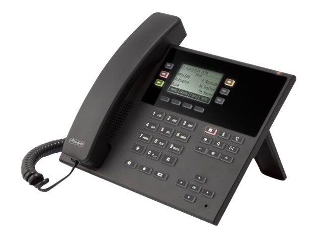 Auerswald COMfortel D-100 - Digitaltelefon - SIP, SRTP - Schwarz