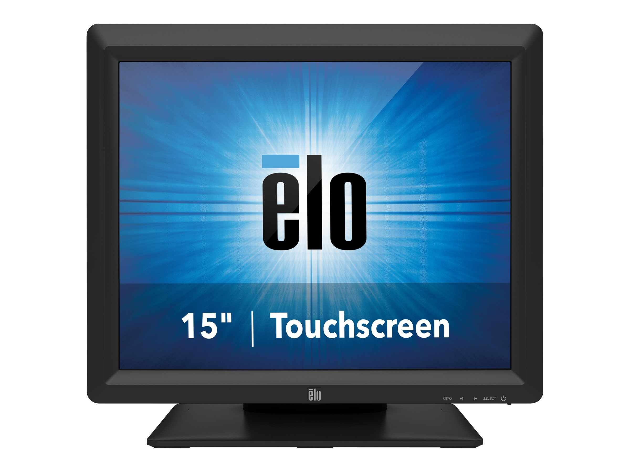 Elo Desktop Touchmonitors 1517L AccuTouch Zero-Bezel - LED-Monitor - 38.1 cm (15