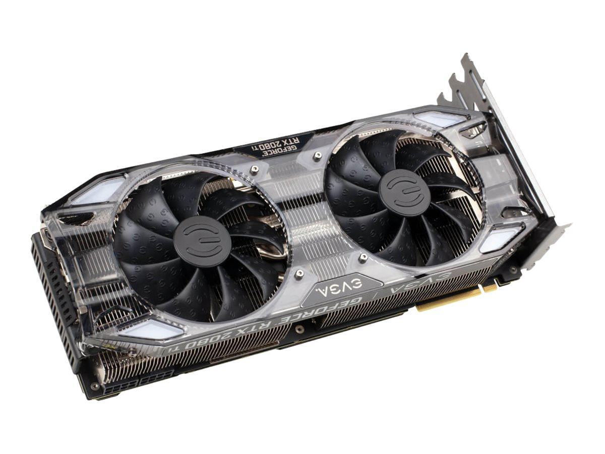 EVGA GeForce RTX 2080 Ti XC ULTRA - Grafikkarten - GF RTX 2080 Ti - 11 GB GDDR6 - PCIe 3.0 x16 - HDMI, 3 x DisplayPort
