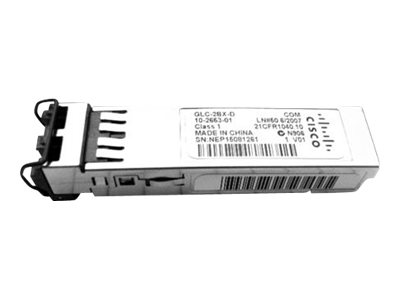 Cisco - SFP (Mini-GBIC)-Transceiver-Modul - GigE - 1000Base-BX80-U - LC/PC Einzelmodus - bis zu 80 km