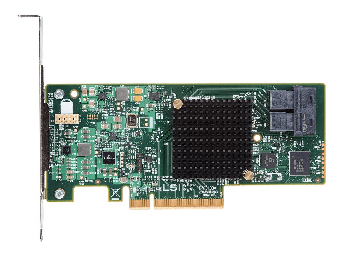 Intel RAID Controller RS3UC080 - Speichercontroller (RAID) - 8 Sender/Kanal - SATA 6Gb/s / SAS 12Gb/s Low-Profile - 6 GBps - RAI