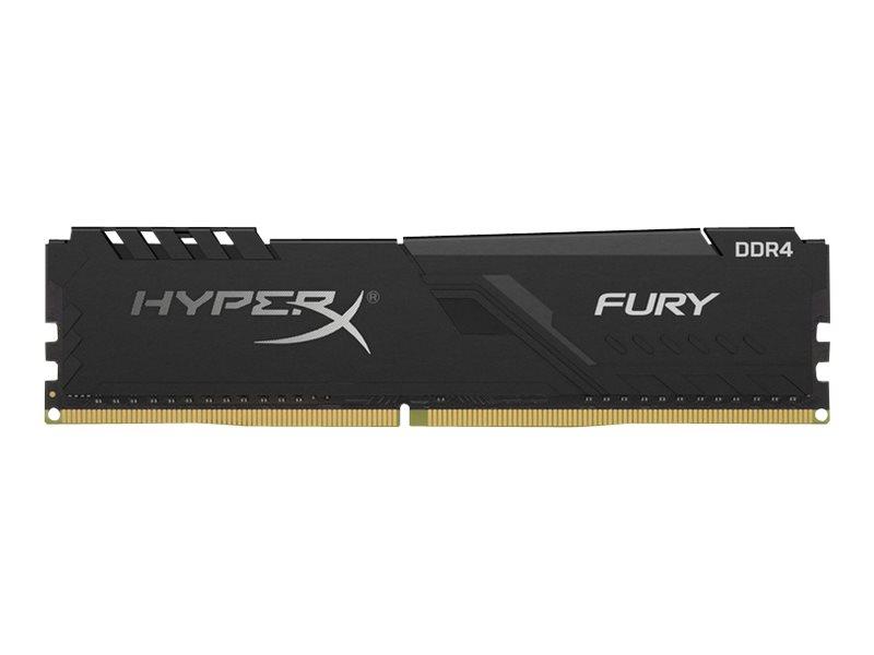 HyperX FURY - DDR4 - 128 GB: 4 x 32 GB - DIMM 288-PIN - 3466 MHz / PC4-27700 - CL17