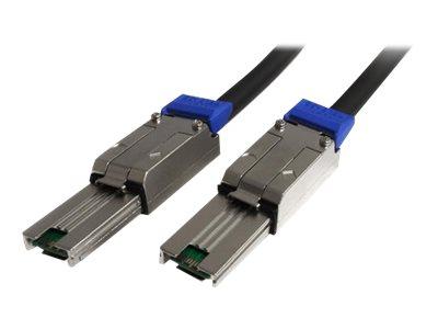StarTech.com Externes Mini SAS Kabel SFF-8088 auf SFF 8088 3m - Serial Attached SCSI Anschlusskabel Stecker/Stecker - 2x SFF8088