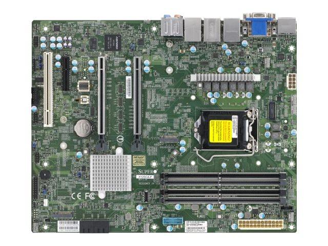 SUPERMICRO X12SCA-F - Motherboard - ATX - LGA1200-Sockel - W480 - USB-C Gen2, USB 3.2 Gen 1, USB 3.2 Gen 2