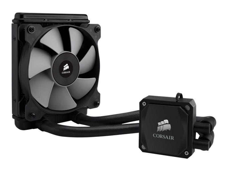 Corsair Hydro Series H60 High Performance Liquid CPU Cooler - Wasserkühlung - (LGA1156 Socket, Socket AM2, LGA1366 Socket, Socke