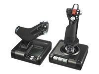 Logitech X52 Professional H.O.T.A.S. - Joystick und Gasregler - kabelgebunden - für PC