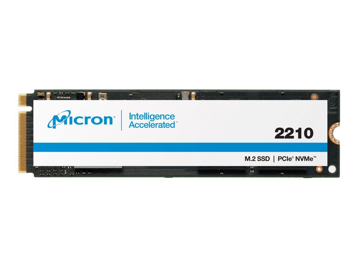 Micron 2210 - Solid-State-Disk - verschlüsselt - 512 GB - intern - M.2 2280