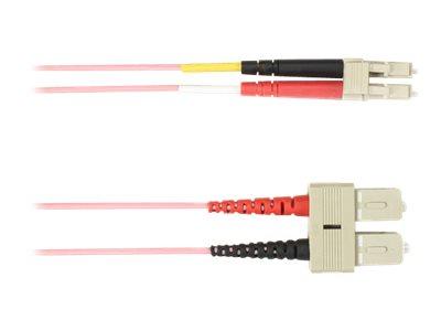 Black Box - Patch-Kabel - SC multi-mode (M) bis LC Multi-Mode (M) - 5 m - Glasfaser - 50/125 Mikrometer