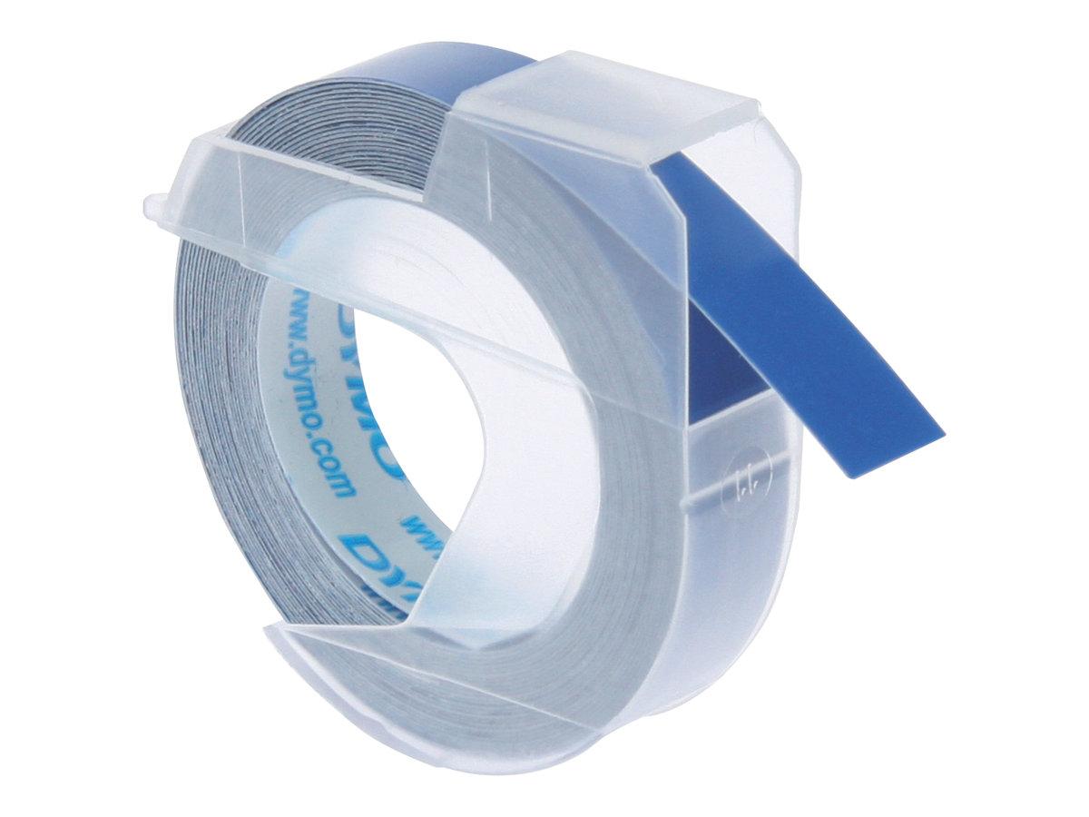 DYMO - Selbstklebend - Blau - Rolle (0,9 cm x 3 m) 1 Rolle(n) 3D-Prägeband - für DYMO Junior embosser