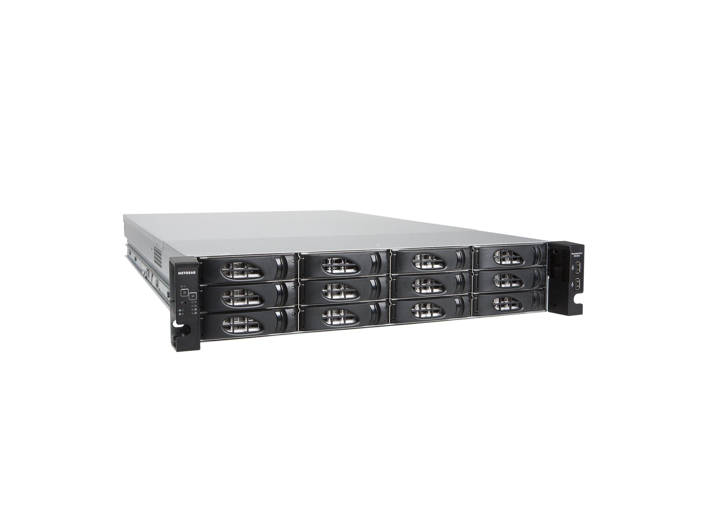 NETGEAR ReadyNAS 4220 RN422X122 - NAS-Server - 12 Schächte - 24 TB - Rack - einbaufähig