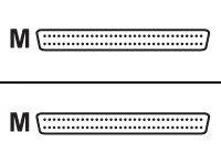 ADIC - SCSI - externes Kabel - HD-68 (M) bis HD-68 (M) - 30 cm