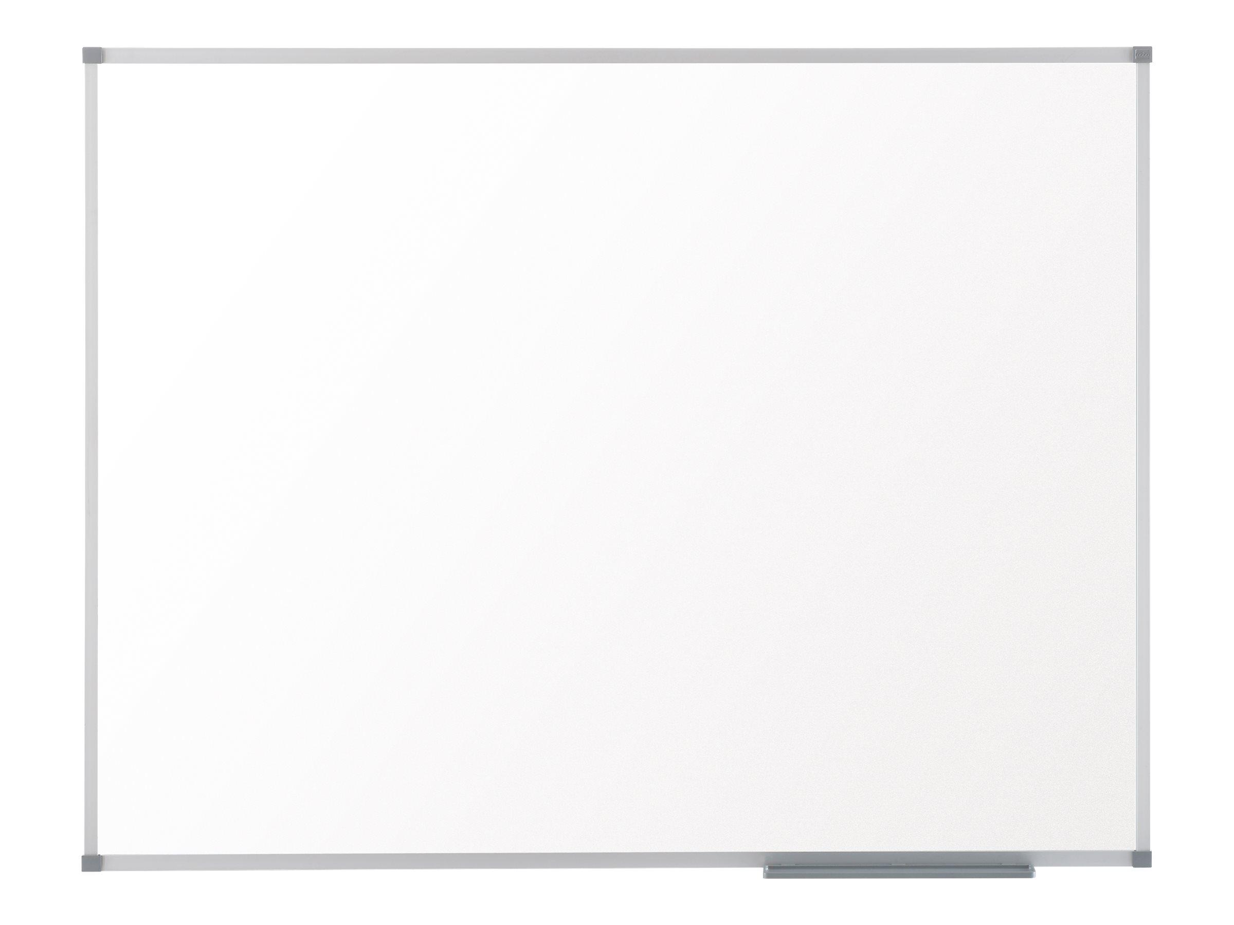 Nobo Prestige Eco - Whiteboard - geeignet für Wandmontage - 600 x 450 mm - Glasur - magnetisch